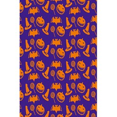 Witch Hat Pumpkin Candy Helloween Purple Orange 5 5  X 8 5  Notebooks by Alisyart