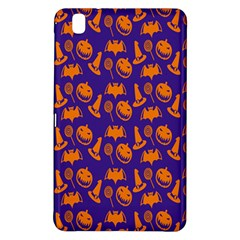Witch Hat Pumpkin Candy Helloween Purple Orange Samsung Galaxy Tab Pro 8 4 Hardshell Case by Alisyart