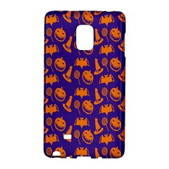 Witch Hat Pumpkin Candy Helloween Purple Orange Galaxy Note Edge by Alisyart