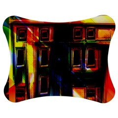 Architecture City Homes Window Jigsaw Puzzle Photo Stand (bow) by Amaryn4rt