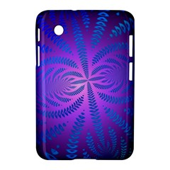 Background Brush Particles Wave Samsung Galaxy Tab 2 (7 ) P3100 Hardshell Case  by Amaryn4rt