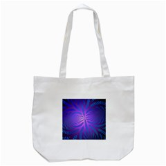 Background Brush Particles Wave Tote Bag (white)