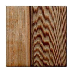Wood Grain Texture Brown Tile Coasters by Amaryn4rt