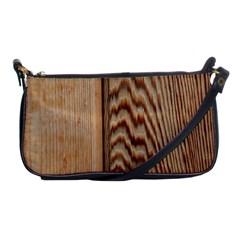 Wood Grain Texture Brown Shoulder Clutch Bags by Amaryn4rt