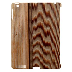 Wood Grain Texture Brown Apple Ipad 3/4 Hardshell Case (compatible With Smart Cover) by Amaryn4rt