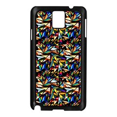 Abstract Pattern Design Artwork Samsung Galaxy Note 3 N9005 Case (black) by Amaryn4rt
