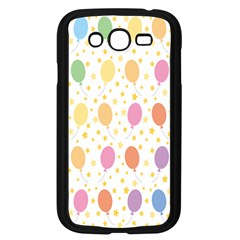 Balloon Star Color Orange Pink Red Yelllow Blue Samsung Galaxy Grand Duos I9082 Case (black) by Alisyart