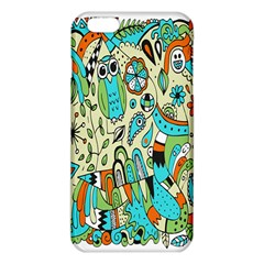 Animals Caterpillar Worm Owl Snake Leaf Flower Floral Iphone 6 Plus/6s Plus Tpu Case by Alisyart