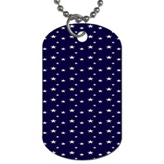 Blue Star Dog Tag (two Sides) by Alisyart