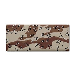 Camouflage Army Disguise Grey Brown Cosmetic Storage Cases by Alisyart
