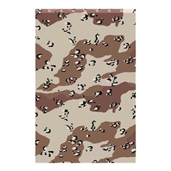 Camouflage Army Disguise Grey Brown Shower Curtain 48  X 72  (small)  by Alisyart
