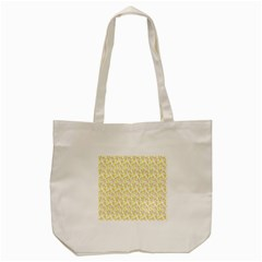 Branch Spring Texture Leaf Fruit Yellow Tote Bag (cream) by Alisyart