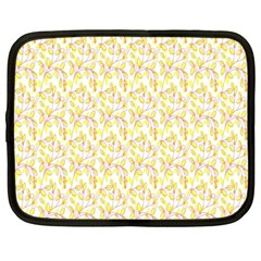 Branch Spring Texture Leaf Fruit Yellow Netbook Case (xxl)  by Alisyart