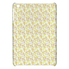 Branch Spring Texture Leaf Fruit Yellow Apple Ipad Mini Hardshell Case by Alisyart