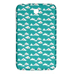 Cloud Blue Sky Sea Beach Bird Samsung Galaxy Tab 3 (7 ) P3200 Hardshell Case  by Alisyart