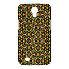 Caleidoskope Star Glass Flower Floral Color Gold Samsung Galaxy Mega 6 3  I9200 Hardshell Case by Alisyart