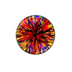 Color Batik Explosion Colorful Hat Clip Ball Marker (4 Pack) by Amaryn4rt