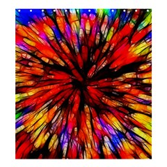 Color Batik Explosion Colorful Shower Curtain 66  X 72  (large)  by Amaryn4rt