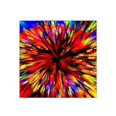 Color Batik Explosion Colorful Satin Bandana Scarf by Amaryn4rt