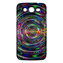 Wave Line Colorful Brush Particles Samsung Galaxy Mega 5 8 I9152 Hardshell Case  by Amaryn4rt