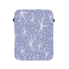 Floral Gray Springtime Flower Apple Ipad 2/3/4 Protective Soft Cases by Alisyart