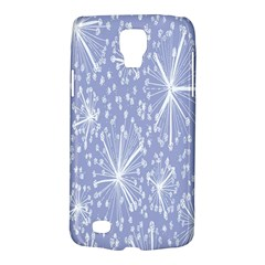 Floral Gray Springtime Flower Galaxy S4 Active by Alisyart