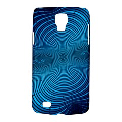 Abstract Fractal Blue Background Galaxy S4 Active