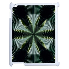 Lines Abstract Background Apple Ipad 2 Case (white) by Amaryn4rt