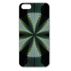Lines Abstract Background Apple Seamless Iphone 5 Case (clear)