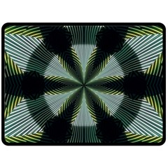 Lines Abstract Background Double Sided Fleece Blanket (large)  by Amaryn4rt