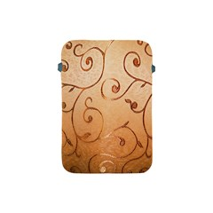 Texture Material Textile Gold Apple Ipad Mini Protective Soft Cases by Amaryn4rt