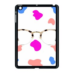 Glasses Blue Pink Brown Apple Ipad Mini Case (black) by Alisyart