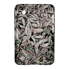 Ice Leaves Frozen Nature Samsung Galaxy Tab 2 (7 ) P3100 Hardshell Case  by Amaryn4rt