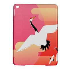 Goose Swan Pink Orange White Animals Fly Ipad Air 2 Hardshell Cases by Alisyart