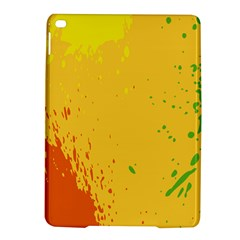 Paint Stains Spot Yellow Orange Green Ipad Air 2 Hardshell Cases by Alisyart