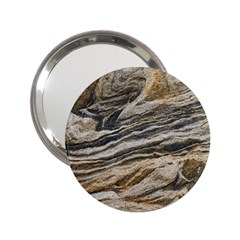 Rock Texture Background Stone 2 25  Handbag Mirrors by Amaryn4rt