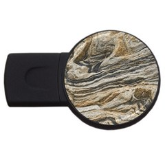 Rock Texture Background Stone Usb Flash Drive Round (2 Gb) by Amaryn4rt