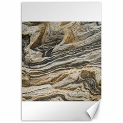 Rock Texture Background Stone Canvas 24  X 36  by Amaryn4rt