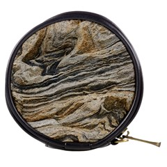 Rock Texture Background Stone Mini Makeup Bags