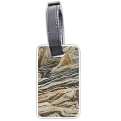 Rock Texture Background Stone Luggage Tags (one Side)  by Amaryn4rt