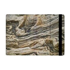 Rock Texture Background Stone Apple Ipad Mini Flip Case by Amaryn4rt