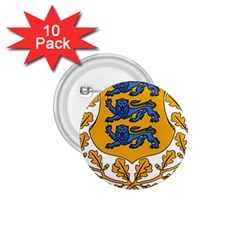 Coat Of Arms Of Estonia 1 75  Buttons (10 Pack)
