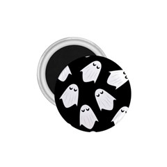 Ghost Halloween Pattern 1 75  Magnets by Amaryn4rt