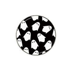 Ghost Halloween Pattern Hat Clip Ball Marker (10 Pack) by Amaryn4rt