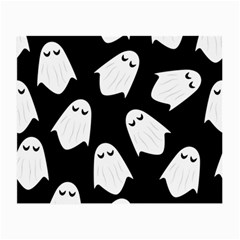 Ghost Halloween Pattern Small Glasses Cloth by Amaryn4rt