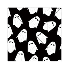 Ghost Halloween Pattern Acrylic Tangram Puzzle (6  x 6 ) by Amaryn4rt