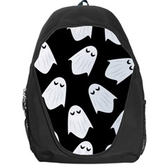 Ghost Halloween Pattern Backpack Bag by Amaryn4rt
