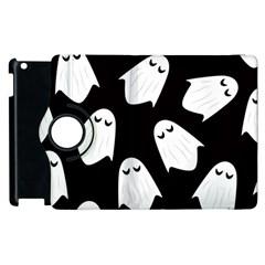 Ghost Halloween Pattern Apple Ipad 2 Flip 360 Case by Amaryn4rt