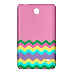 Easter Chevron Pattern Stripes Samsung Galaxy Tab 4 (7 ) Hardshell Case