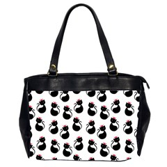 Cat Seamless Animal Pattern Office Handbags (2 Sides)  by Amaryn4rt